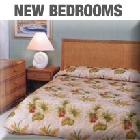 Island Collections New Rattan Bedroom Furniture