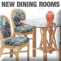 Island Collections New Rattan Dining Room Furniture