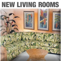 Island Collections New Rattan Living Room Furniture
