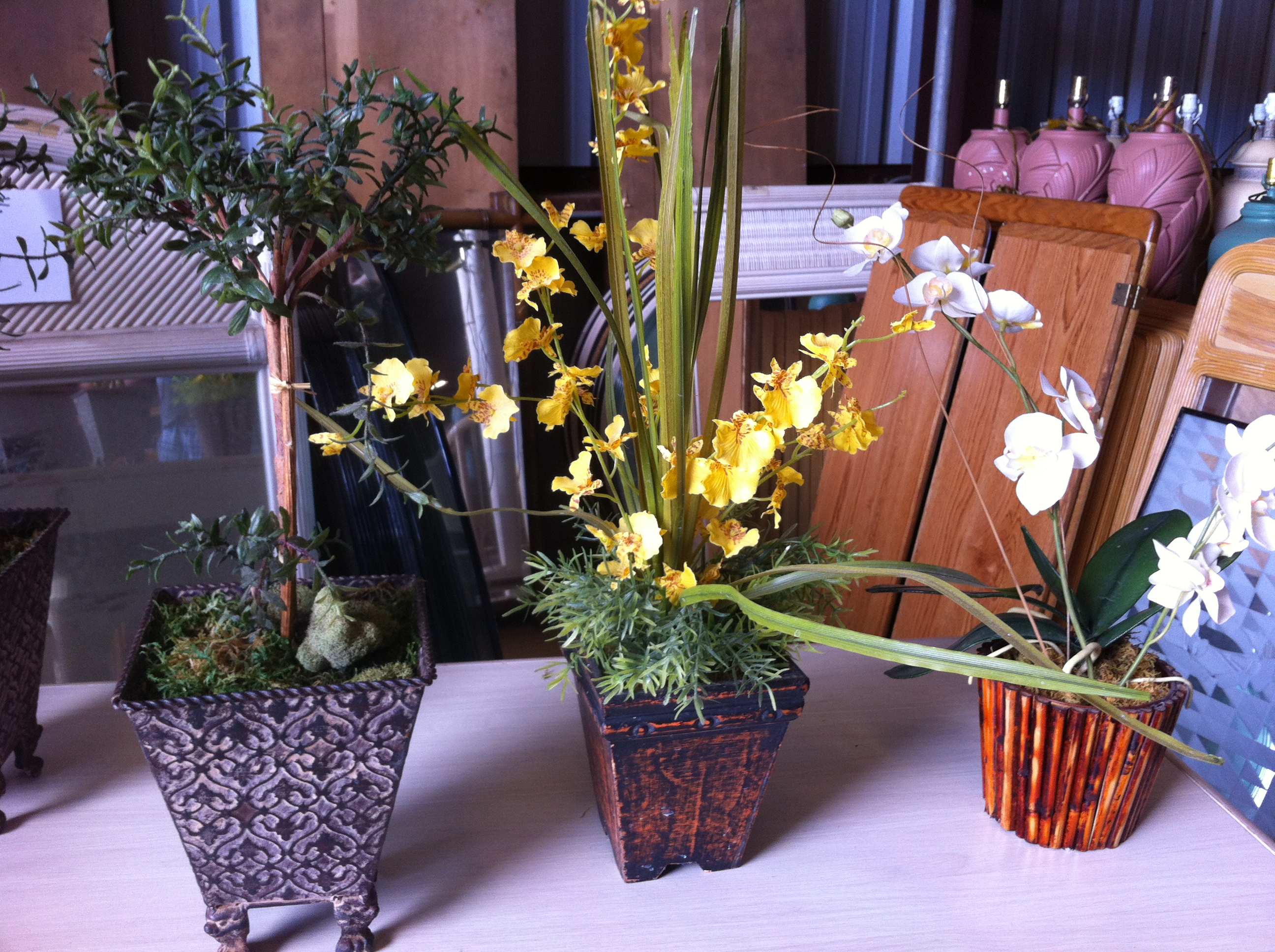 Silk Flower Arrangements Hawaii Island Liquidators