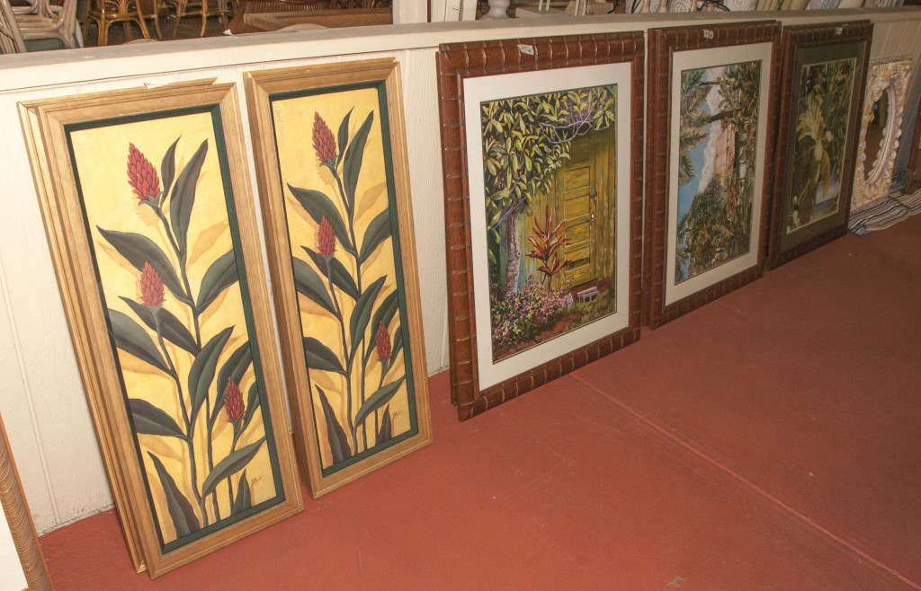 Kauai Used Beautiful Framed Tropical Prints
