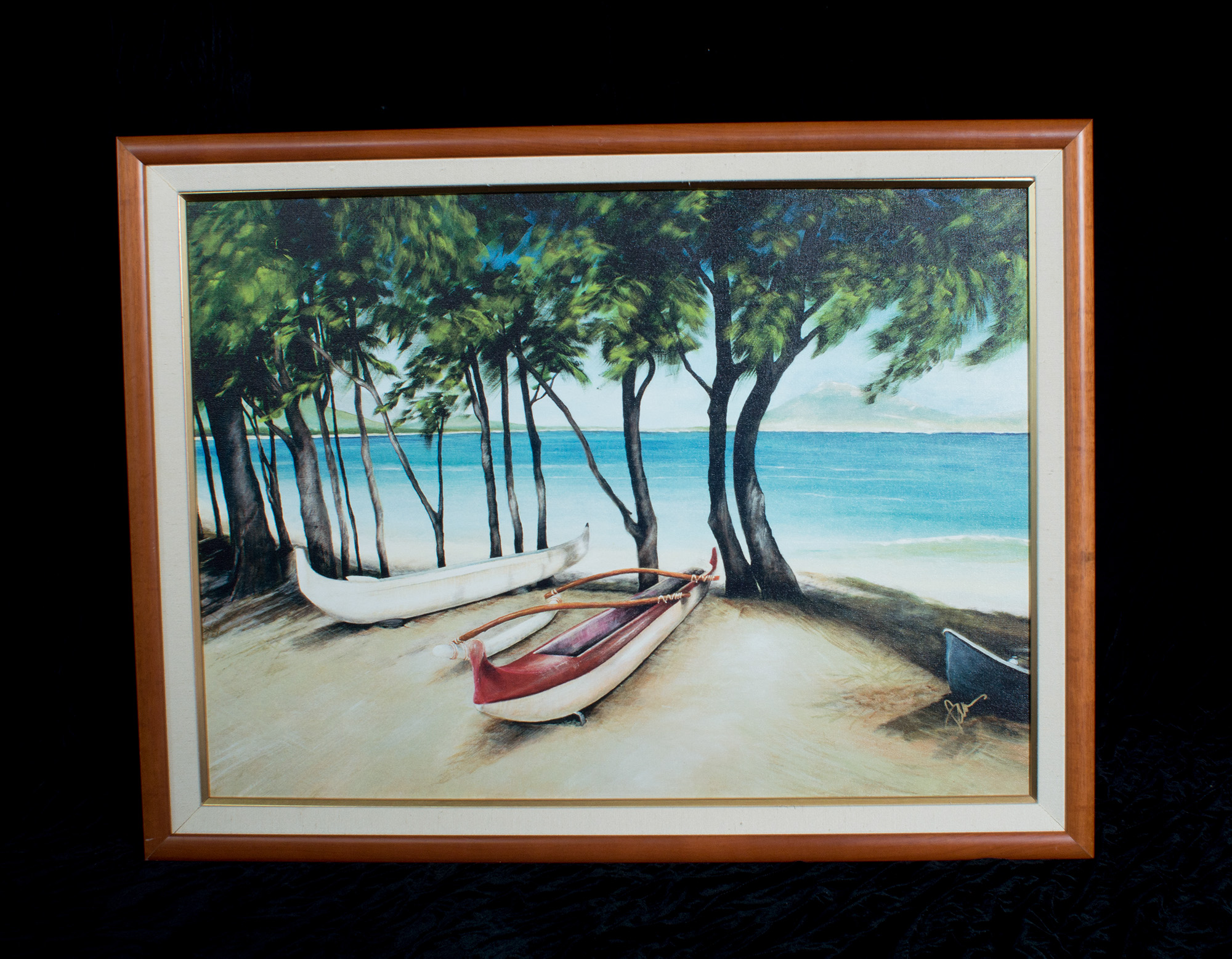 Hawaiiana Beach Painting