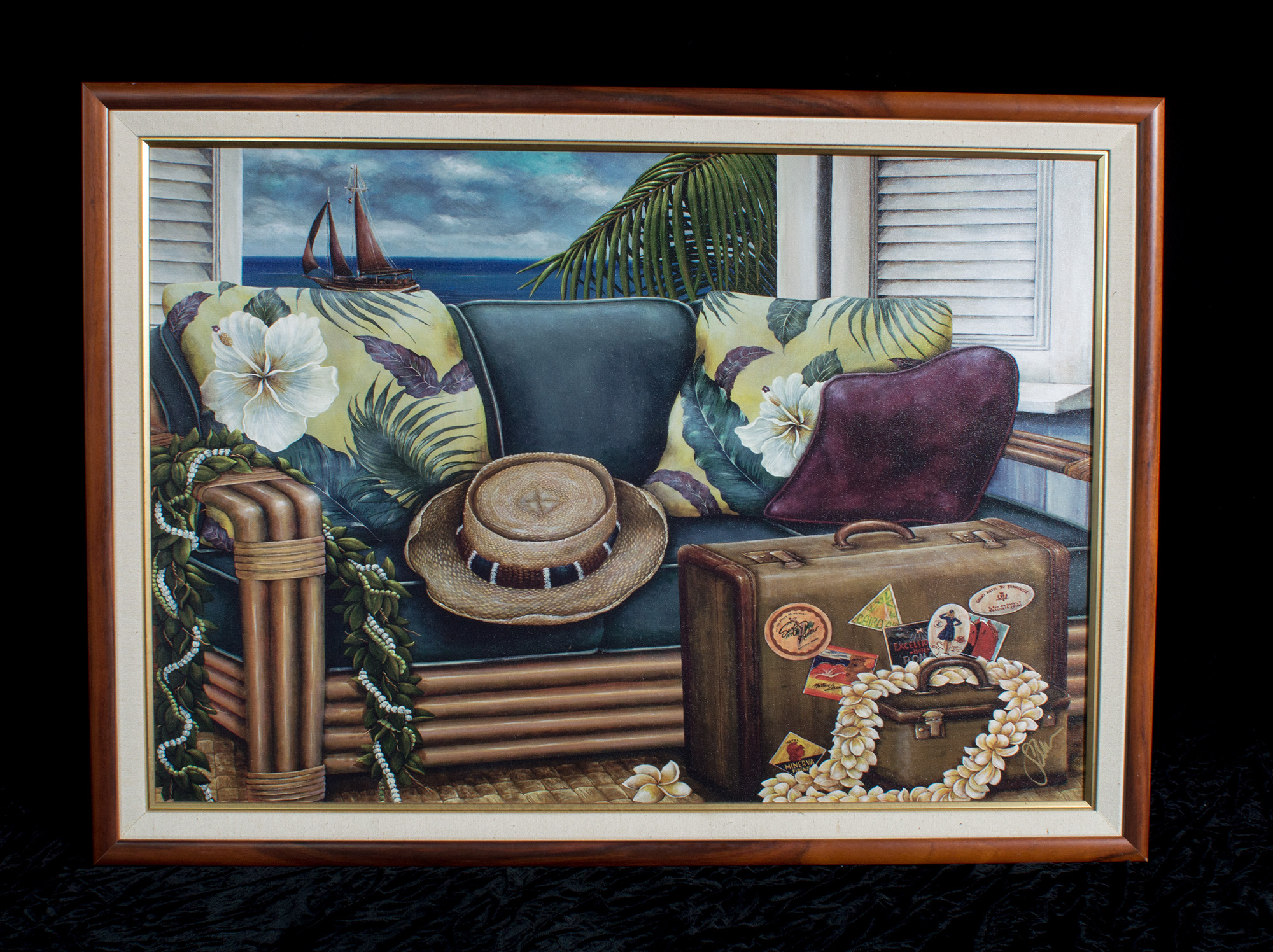 Hawaiiana Vacation Painting